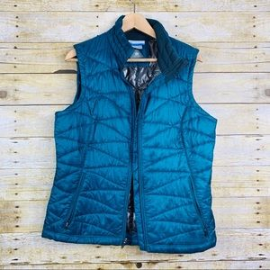 Columbia Thermal Comfort Vest Teal Large